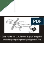 Colegio-Miguel-Miguel-de-Cieneguilla-Dirección
