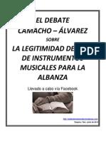 El Debate Camacho c3a1lvarez Sobre Los Instrumentos Musicales
