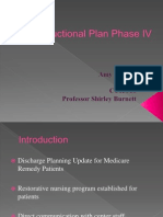 instructional plan phase iv