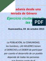 Exposición Proceso Historico Mujeres