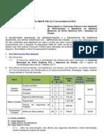 Edital Regulamentador Imprensa Republicaçao