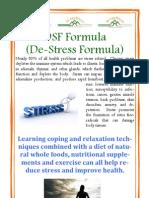 DSF Formula Brochure