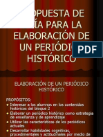 Guía Para La Elaboración de Periódico Histórico