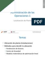 UN 4 Tema 11 Localizacion de Planta AD169