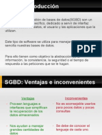 introduccion sgbd