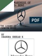 Mercedes Benz -THE LUXURY OF PREMIUM BRAND