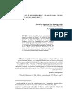 LA PROTECCIÓN DE CONSUMIDORES Y USUARIOS COMO FUNCION ESENCIAL DEL ESTADO ARGENTINO (dante rusconi)