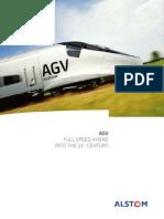 Alstom - English Agv