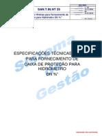 Hidrômetro SANASA 174