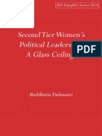 Second Tier Women's Political Leadership