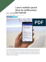 XHover Un Nuevo Módulo Xposed Para Modificar Las Notificaciones en Paranoid Android