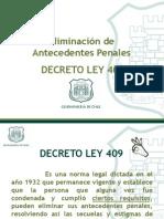 Decreto Ley 409 Presentacion