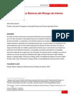 Abel García García - Consideraciones Básicas Del Riesgo de Interés Estructural