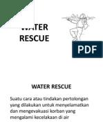 Presentasi Water Rescue