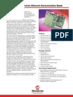 PICDEM.net™ InternetEthernet Demonstration Board