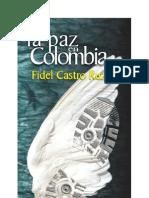Paz Colombia Fidel Castro Libro Completo