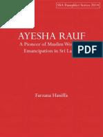 Muslim Personalities in Sri Lanka | Sri Lanka | Arabs