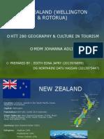 New Zealand (Wellington and Rotorua)
