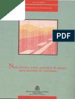 Aparatos de Apoyo Para Puentes Carreteros 1995