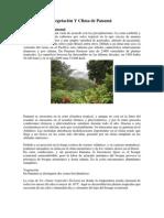 Vegetación Y Clima de Panamá