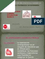 Reanimación Cardio Pulmonar Basico - Clase