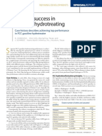 Achieve Success in Gasoline Hydrotreating