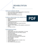 Cardiac Rehabilitation Protocol