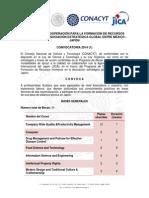 Convocatoria Estancias Tecnicas Japon-2014-1