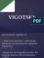 La Teoría de Vigotsky