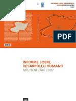 IDH Michoacan 2007