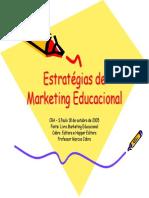 Apresentação - Marketing Educacional