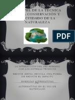 El Papel de La Técnica en La Conservación (1)