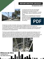 Recopilacion Reportes de Obra 2013