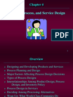 Design of Product Process