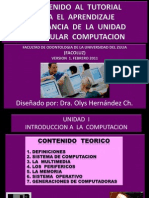 Unidad i Introduccion Computacion