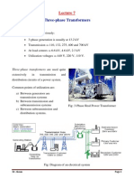 Lecture 7 Three-phase Transformers