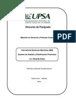 Examen - International Business Machines (IBM) - Christian Parada