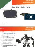 Rapid Sheet Metal Presentation Design Faster