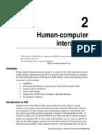 2 Human-computer Interaction