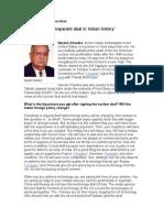 Transparent Deal 123 by Naresh Nhandra