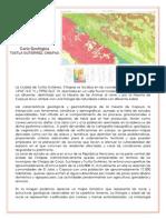 Carta Geológica de Tuxtla Gutierrez
