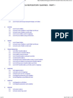 Informatica Repository Queries - Part i