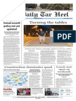 The Daily Tar Heel for August 19, 2014