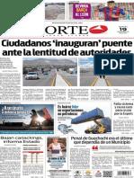 Periódico Norte edición del día 19 de agosto de 2014