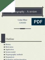 Stegonagraphy Review