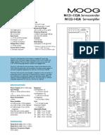 Moog Controller n121-132electronics