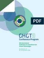 GHGT9 Conference Program Book