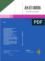 Jus Et Civitas_coperta (1)