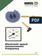 Electr Speed Sensing e