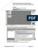 Membuat Report Laporan Harian Di Visual Basic 6.0 Asep Jalaludin